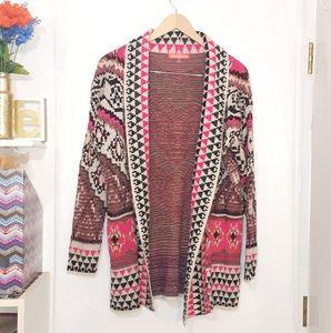 Lulumari | Ethnic Knit Cardigan